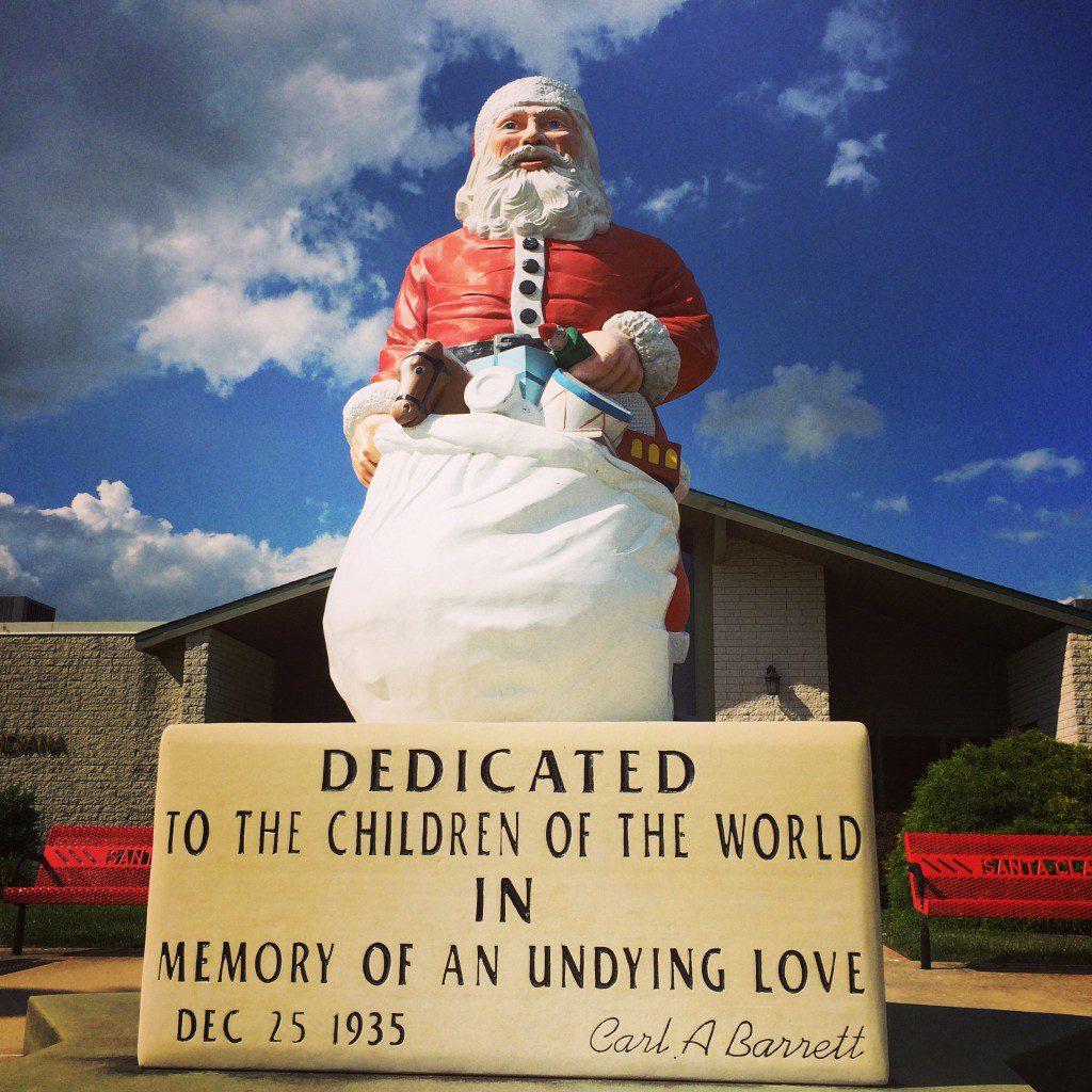 Santa statue