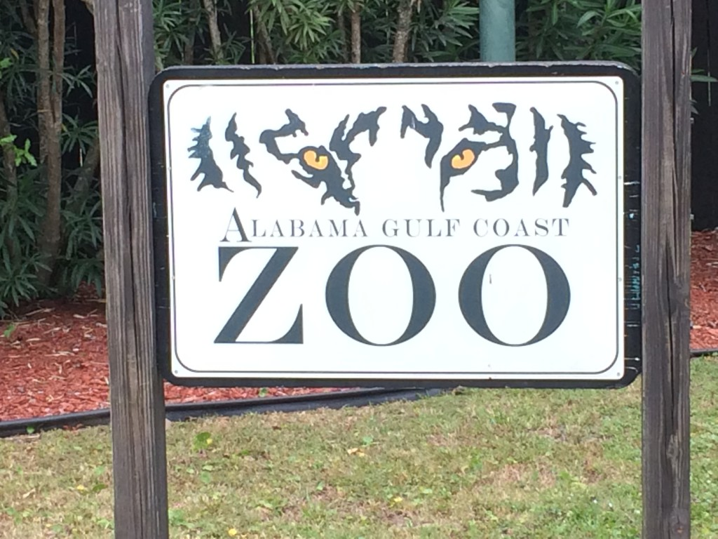 Gulf Coast Zoo Sign