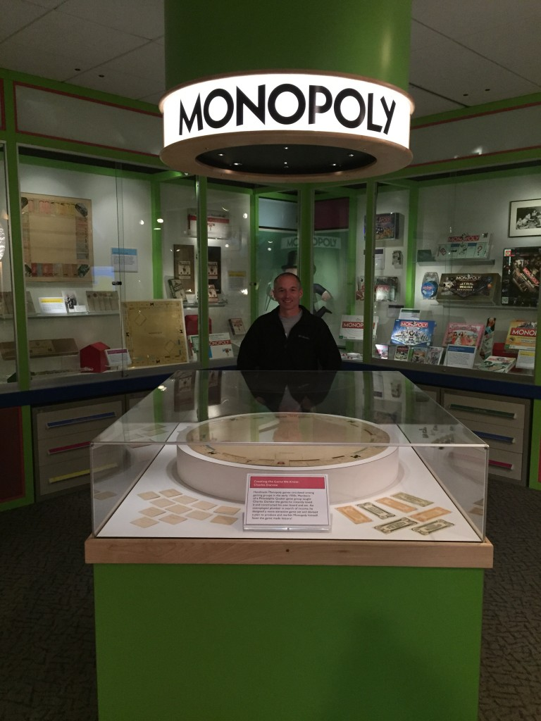 Original Monopoly Board
