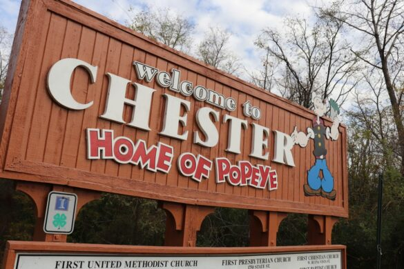 Visiting Popeye's Home Town