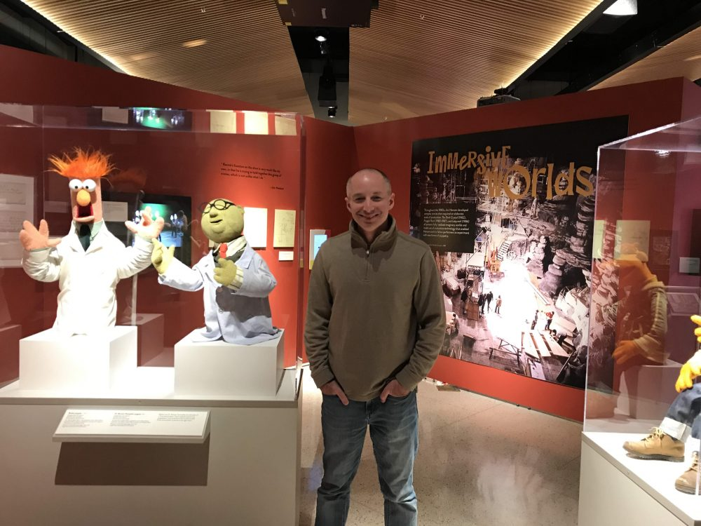 Muppets display MAX Museum