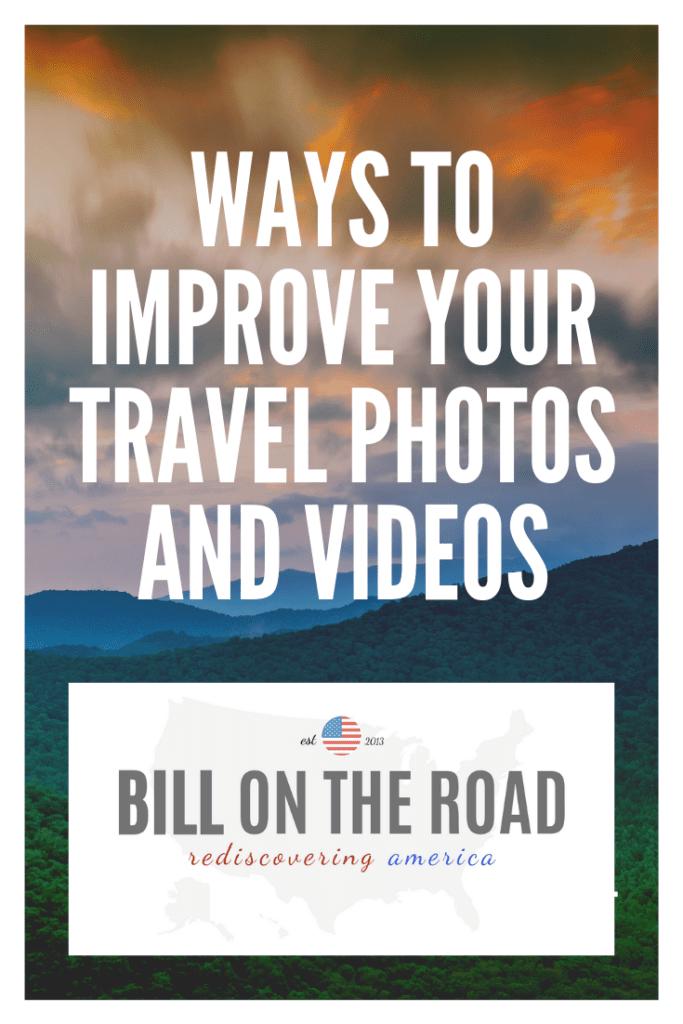 How to improve travel photos