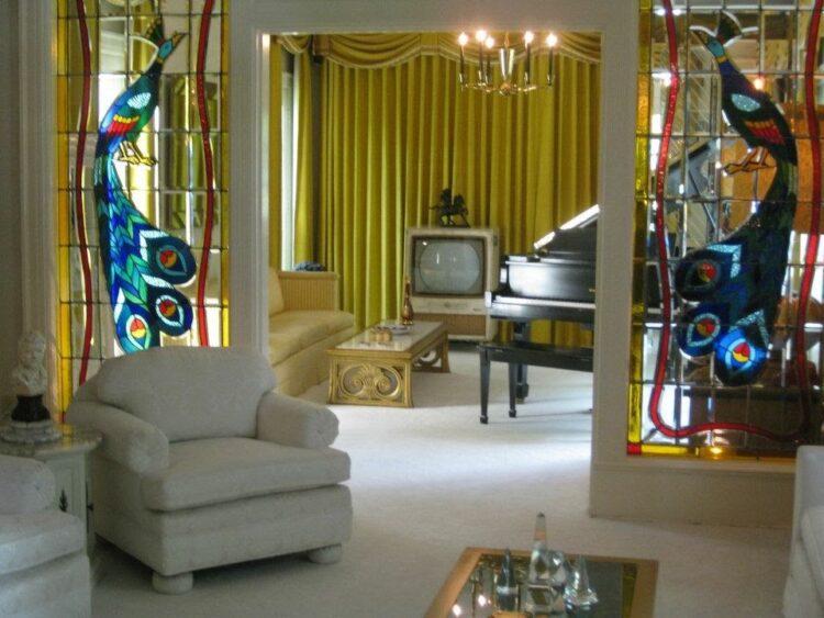 Elvis Graceland Living Room