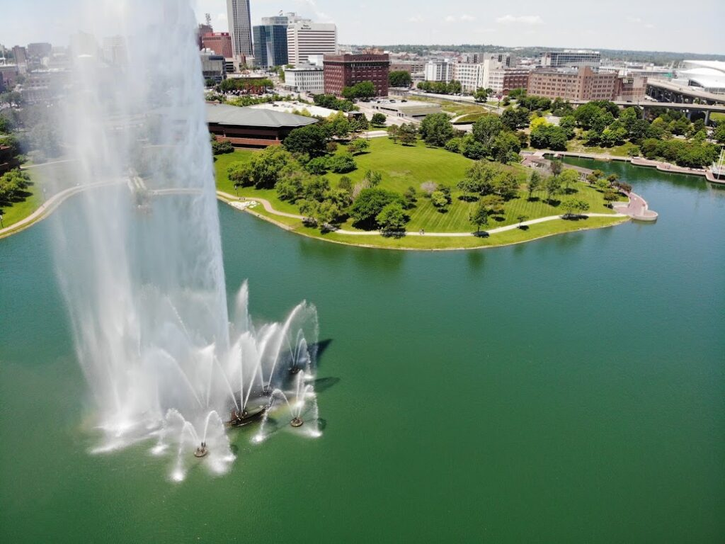 Omaha park fountain