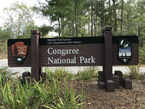 Congaree Park in South Carolina