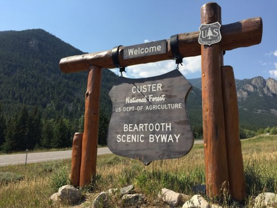 The most beautiful drive in America is the Beartooth Highway